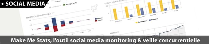 Make Me Stats : outil social media monitoring et veille
