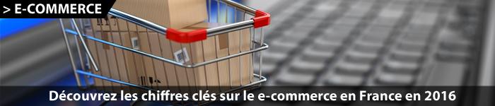 Les chiffres clés du e-commerce en France au 1er trimestre 2016