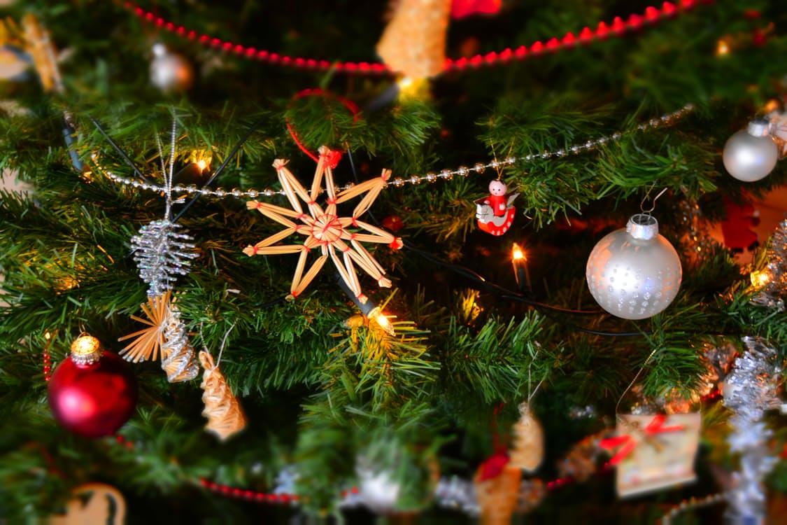 Photo de décoration de fêtes de fin d'année