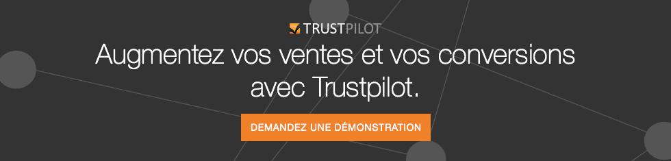 Demandez une démonstration gratuite de Trustpilot