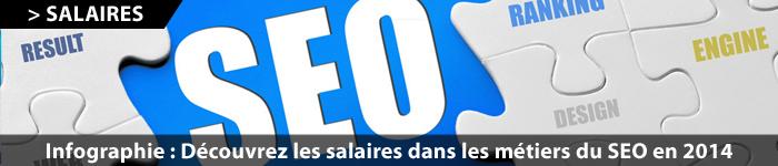 Etude des salaires SEO 2014 en France par SEO Camp