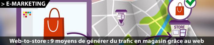 9 moyens de générer du trafic en magasin grâce au web-to-store