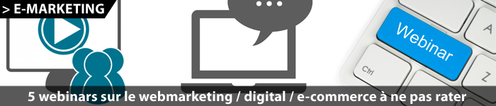 Webinar digital / webmarketing / e-commerce