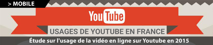Infographie Youtube France 2015