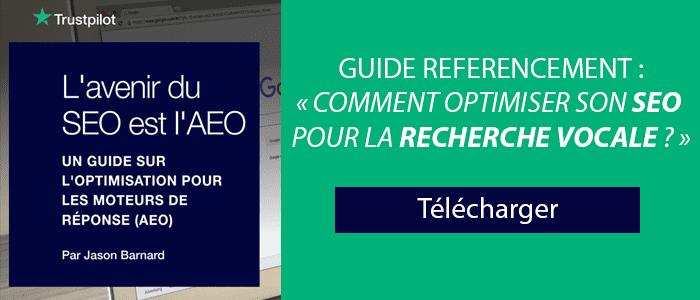 Guide sur le référencement SEO et la recherche vocale à télécharger