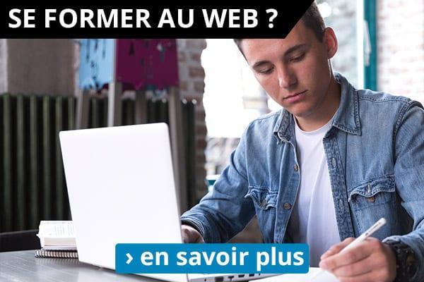 Formez vous au web : Webmarketing / Community Management / Référencement
