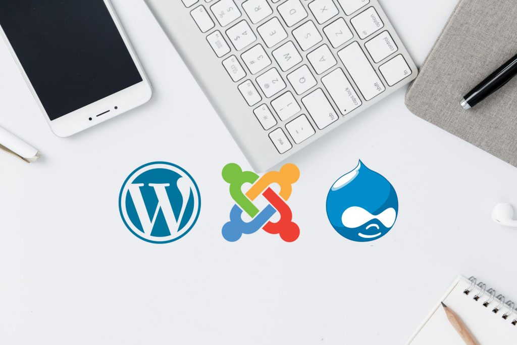 CMS-Open-source-WordPress-Joomla-Drupal