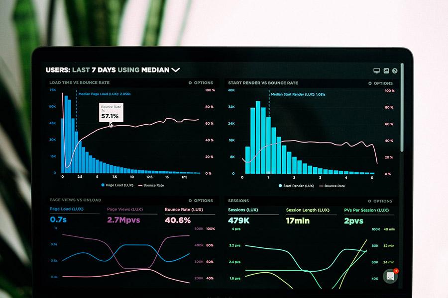 Exemple d'analyse de données avec un tableau de bord