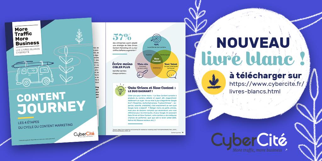 Livre blanc sur le content marketing par CyberCité